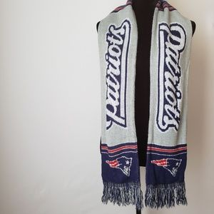 New England Patriots Breakaway Knit Scarf